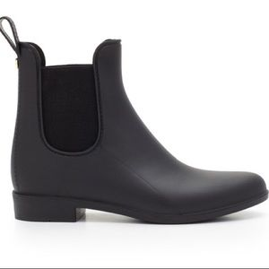 New Sam Edelman Tinsley Rubber Rain Boot Black